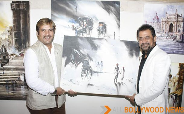 Writer & Director Anees Bazmee Inaugurated Artist B Kumar's Solo show