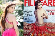 Pooja Misrra sizzles Topless on the cover of Filmfare in August