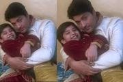 Anas Rashid Bonds With His On Screen Son