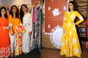 Padmini Kolhapure-Sita Talwalkar make weaves with Padmasitaa