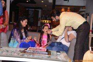 Ruhaanika Dhawan brings in her real birthday with Ishima (12)