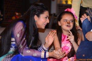 Ruhaanika Dhawan brings in her real birthday with Ishima (15)