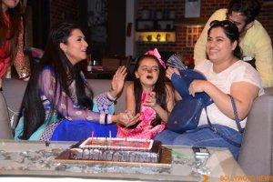 Ruhaanika Dhawan brings in her real birthday with Ishima (16)