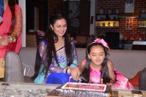 Ruhaanika Dhawan brings in her real birthday with Ishima (7)