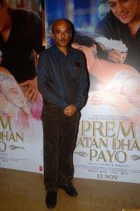 Dir Sooraj Barjatya at the trailer launch of Prem Ratan Dhan Payo presented by Fox Star Studios & produced by Rajshri Productions (P) Ltd, directed by Sooraj Barjatya