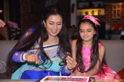 Ruhaanika Dhawan brings in her real birthday with Ishima