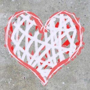 love-heart-red-white-grey-beton-concrete