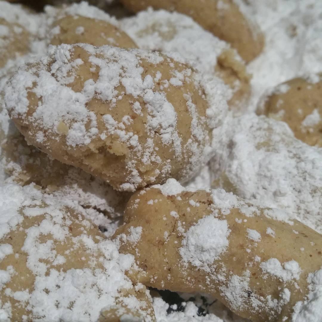 Pecan Shortbread (pecan puffs)