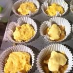 apple custard teacakes