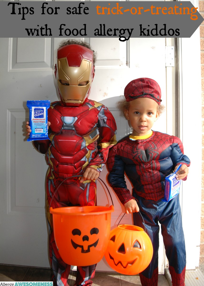 8 Safe Trick-or-Treating Tips + 8 Safe Top-Eight-Free Candies