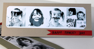 Father's Day Photo Booth Card