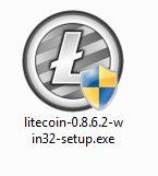 Litecoin Qt Wallet Installer Icon