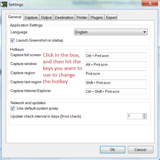Change Screenshot Hoteky Windows