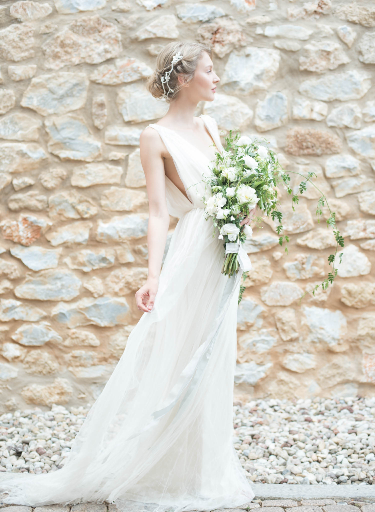 greek goddess bridal inspiration greek goddess wedding dress Greek Goddess Bridal Inspiration