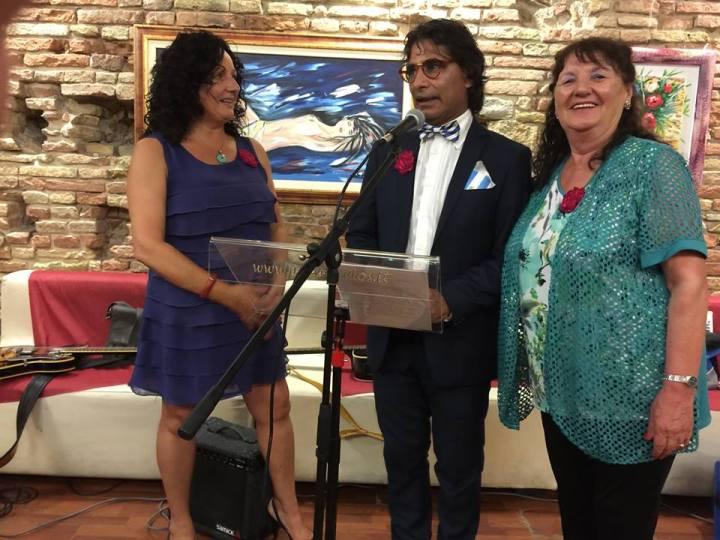 Cinzia Rossi, Juan Carlos, Ana Cafarelli