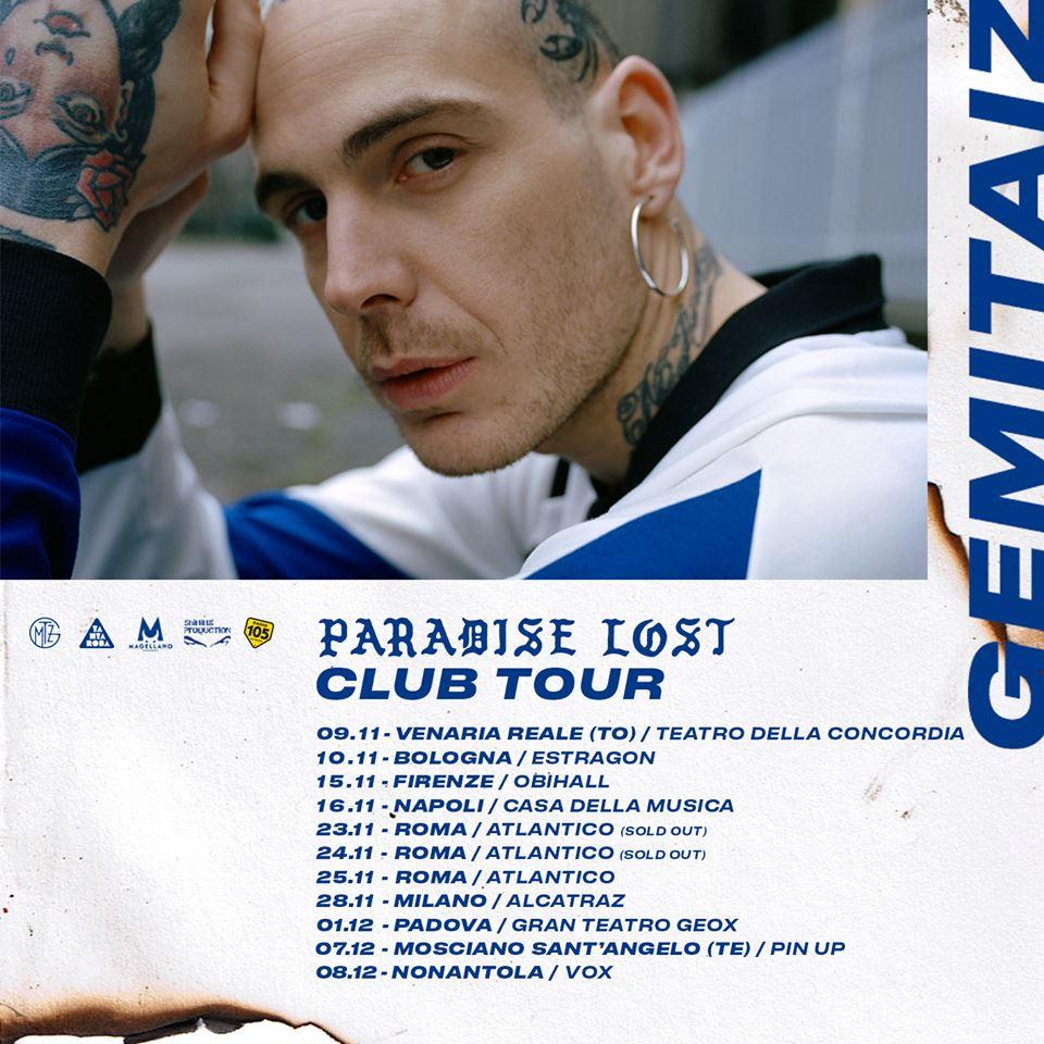 Paradise Lost Club Tour