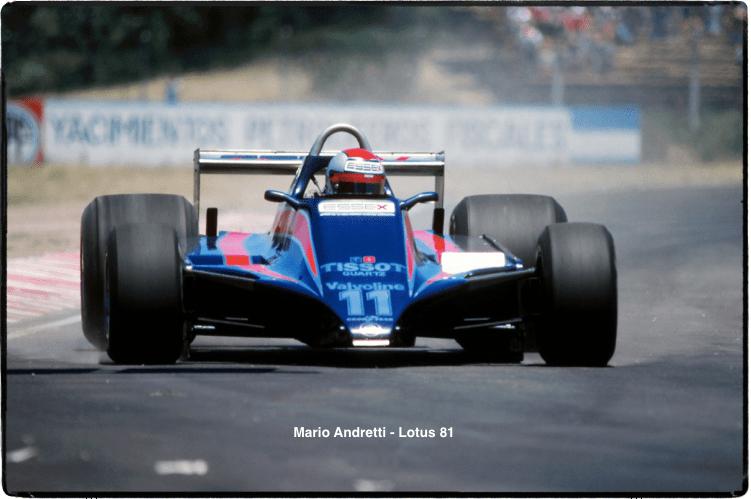 Mario Andretti, Lotus 81, 1980