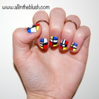 How To: Mondrian Nails