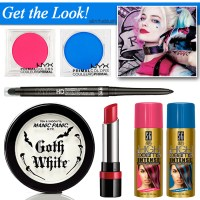 Harley Quinn Beauty Tutorial
