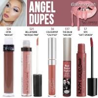 Kylie Cosmetics Angel Lipstick Dupes