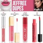 Kat Von D Jeffree Everlasting Liquid Lipstick Dupes