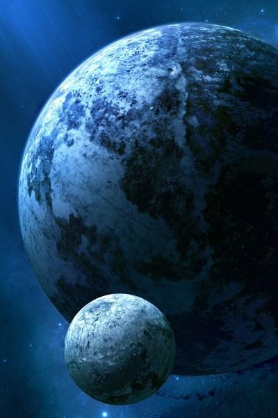 Kepler Planet iPhone Wallpaper HD