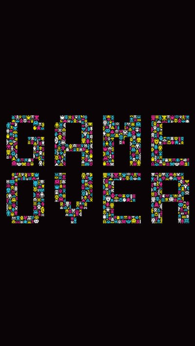 Game Over iPhone Wallpaper HD