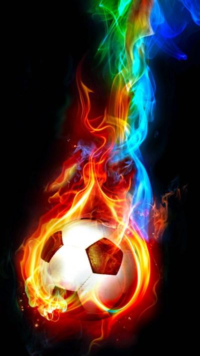 Soccer Ball iPhone Wallpaper HD