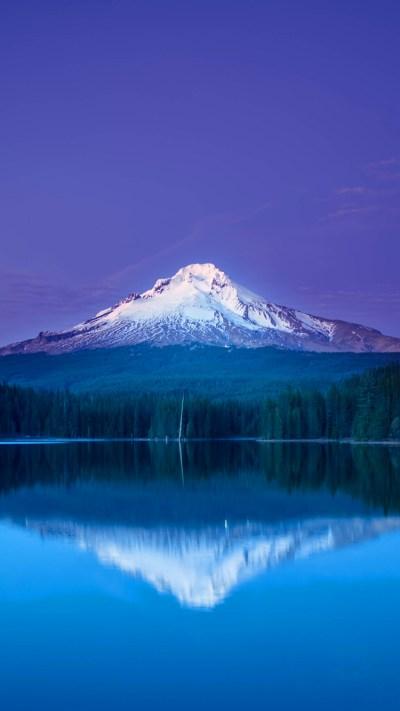 Mountain Snowscape iPhone Wallpaper HD