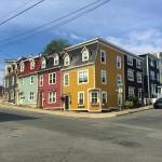 Some of the colorful houses known as jelly bean houseshellip