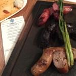 Ohhhh the sausages! Chorizo gaucho, morcilla, chorizo con queso @ruralsocietydc…