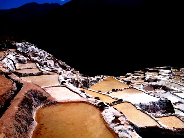 Salt pits of Maras, Peru