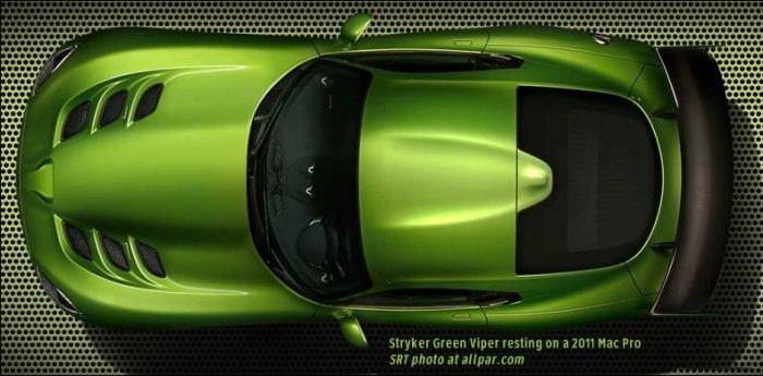 2014 viper stryker green