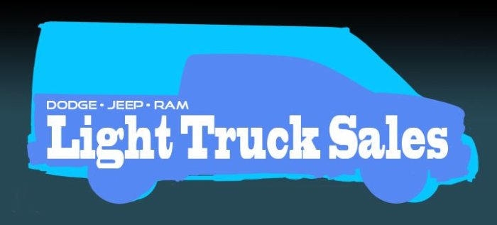 Silhouettes of Ram ProMaster and Ram Pickup