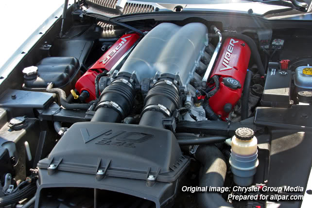 8.4-liter V10 ACR-X engine
