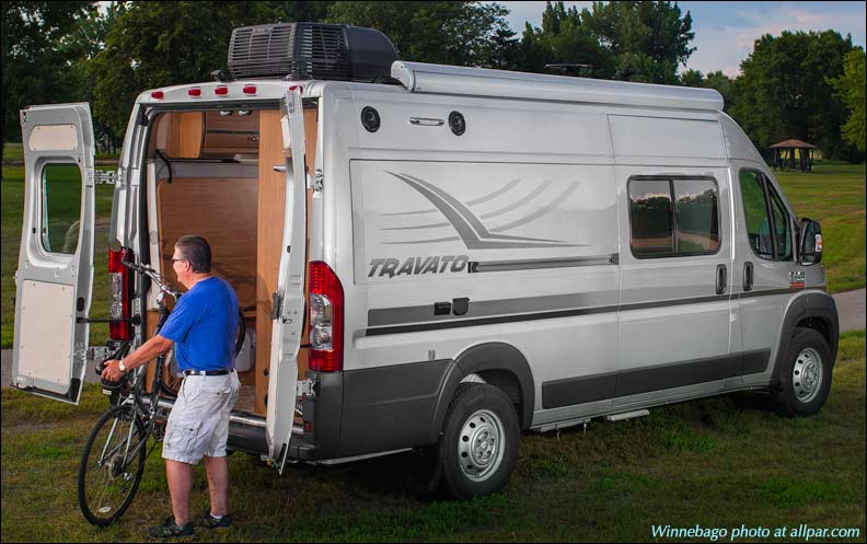 Winnebago Travato motor home camper