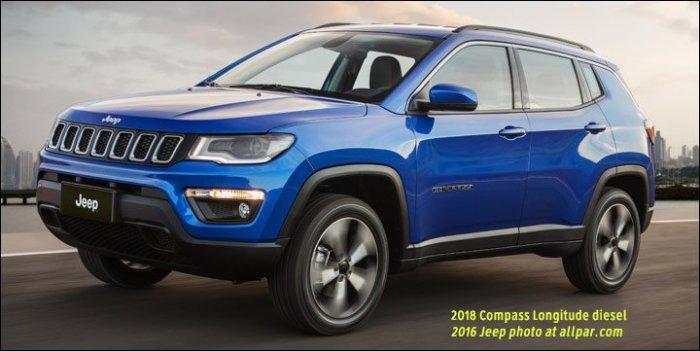 2018 Jeep Compass diesel