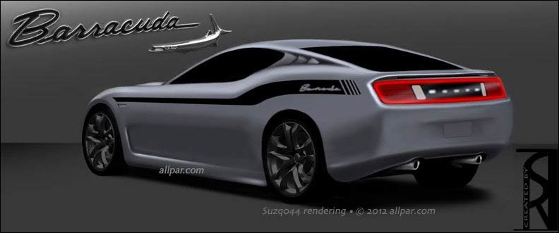 Ralph Gilles said that the SRT Barracuda is still a few years out, and