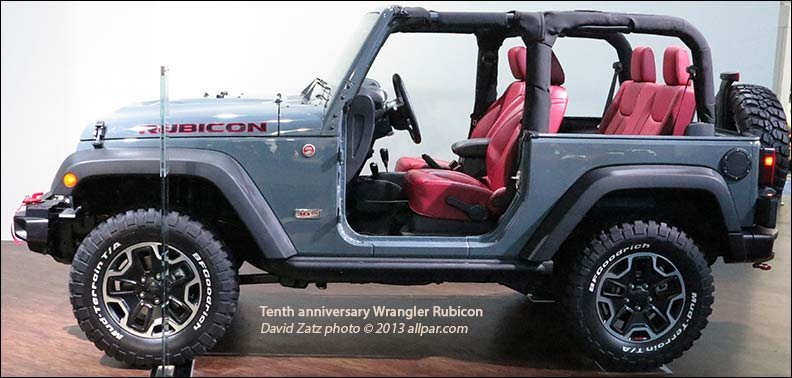 2013 rubicon tenth anniversary