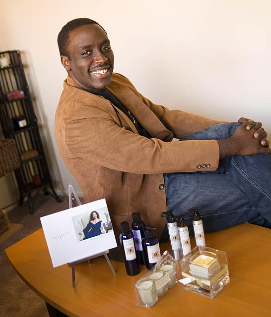 Terry Carter, CEO of Travertine Spa Collection