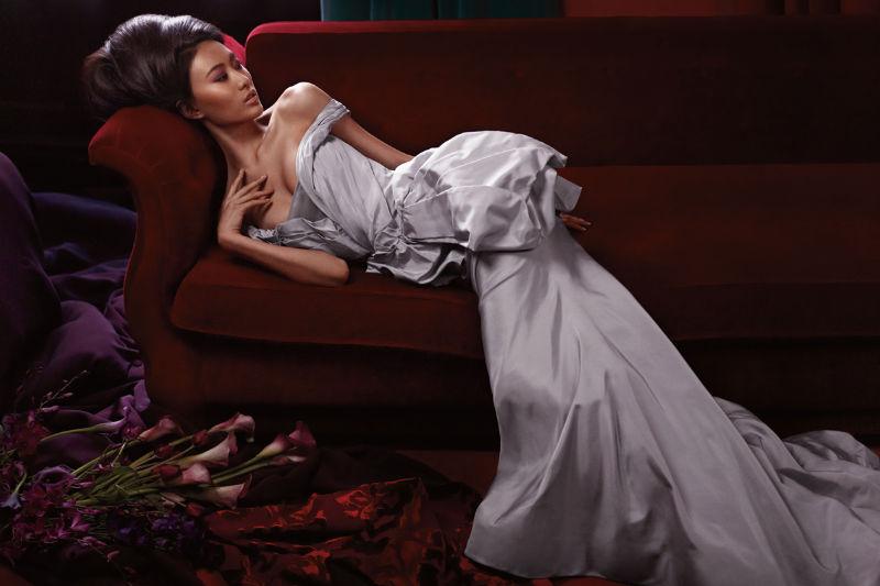 Shu Pei for Vera Wang Bridal 2011
