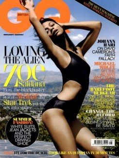 Zoe Saldana GQ Magazine