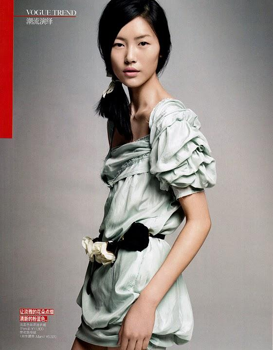 Liu Wen for Vogue China Editorial