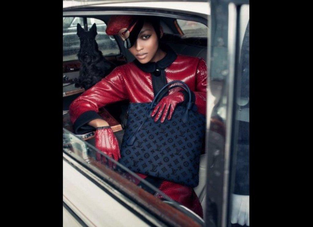 Nyasha Matonhodze for Louis Vuitton F/W 2011