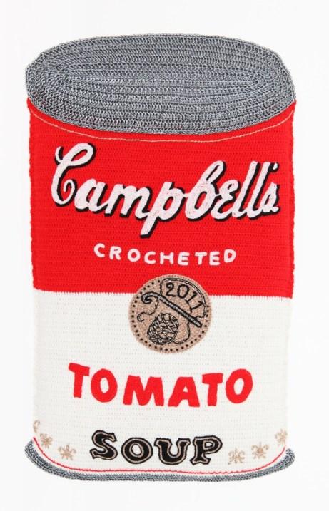 Campbell's Crochet Tomato Soup by Kate Jenkins