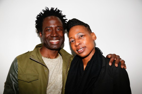 Quincy Allen Owner of Quinque Inc and Macari at Flavor's Night Out (Photo by Katherine Angelique)