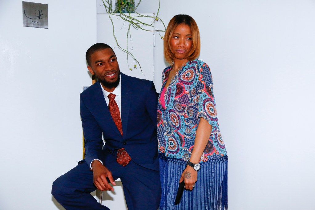 Cacha` Lopez and Mikal Sabree at Flavor's Night Out (Photo by Katherine Angelique)