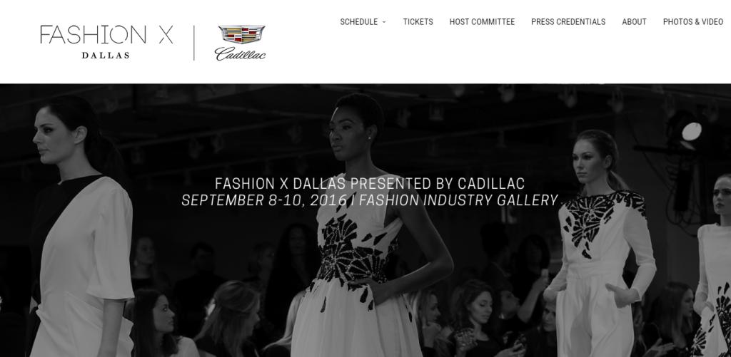 Fashion X Dallas (image from fashionxdallas.com)