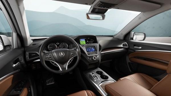 Acura MDX interior (Image from Acura.com)