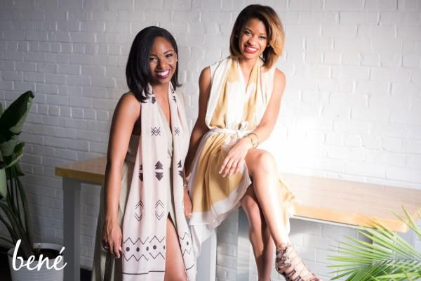 Michelle Blue and Sasha Matthews of Bene Scarves (Image courtesy of Michelle Blue and Sasha Matthews)
